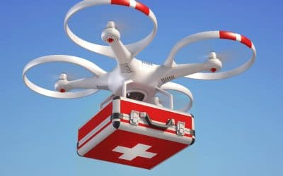 Bientôt des transports médicaux par drones en Belgique – Air&Cosmos