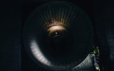 Le drone Elios conduit une inspection dans une turbine à gaz – Air&Cosmos