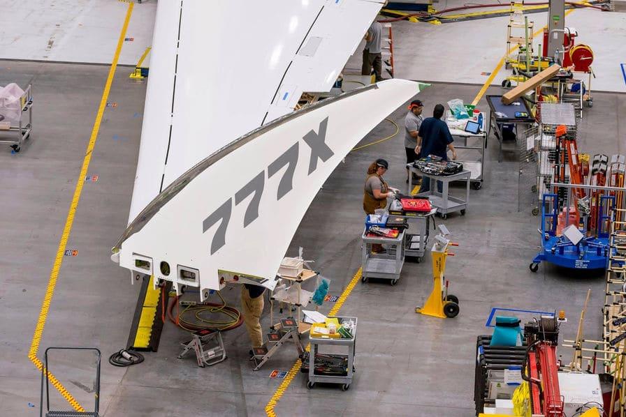 [Vidéo] Le Boeing 777X déploie ses ailes… repliables