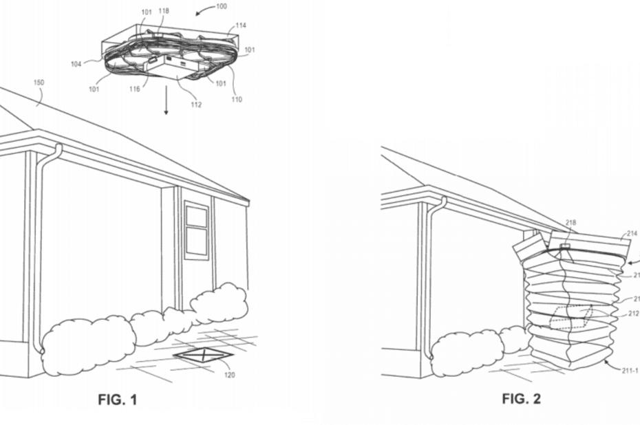 Amazon planche sur un système de livraison par drone plus silencieux