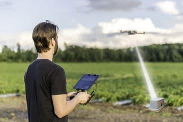 Un laser pour recharger les drones en plein vol