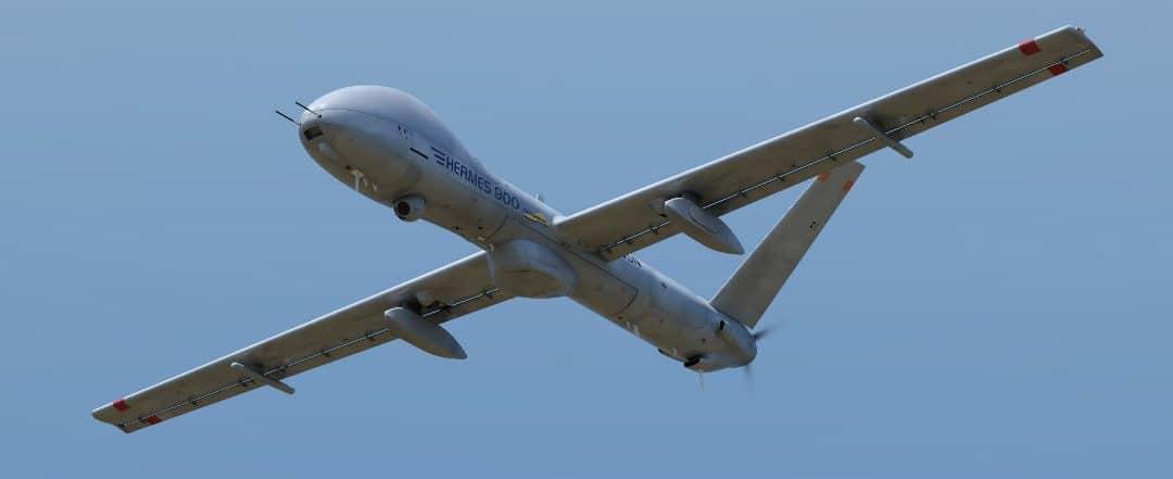 Le drone Hermes 900 au service de l'UE – Air&Cosmos