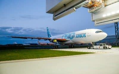 L'Airbus A330-800neo effectue son premier vol d'essai – Air&Cosmos