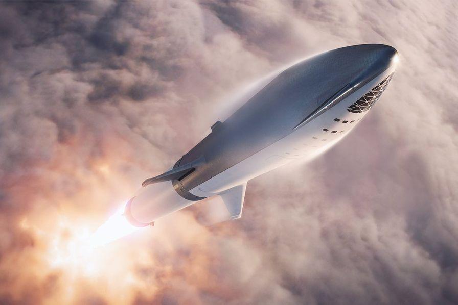 Elon Musk renomme la future grosse fusée de SpaceX «Starship»