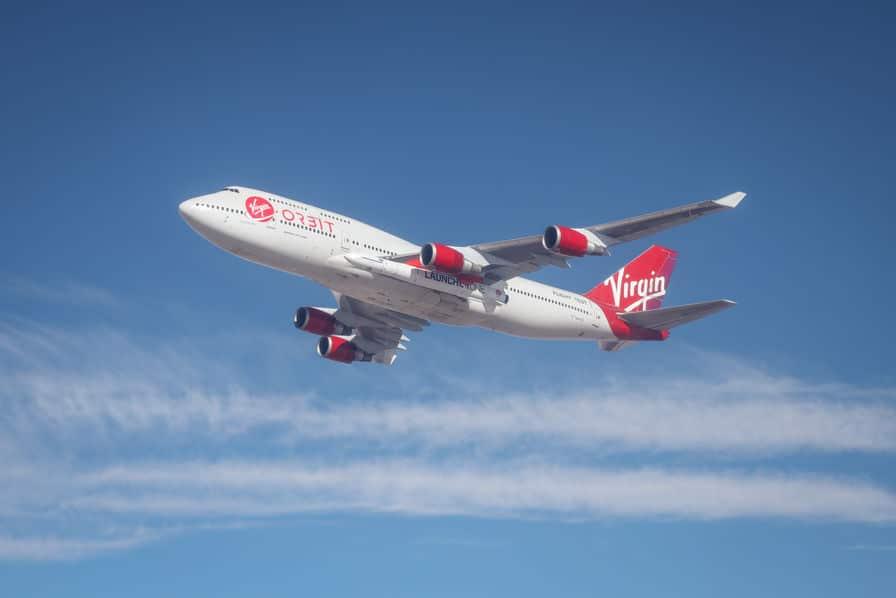 [Vidéo] Virgin Orbit fait voler sa fusée LaucherOne