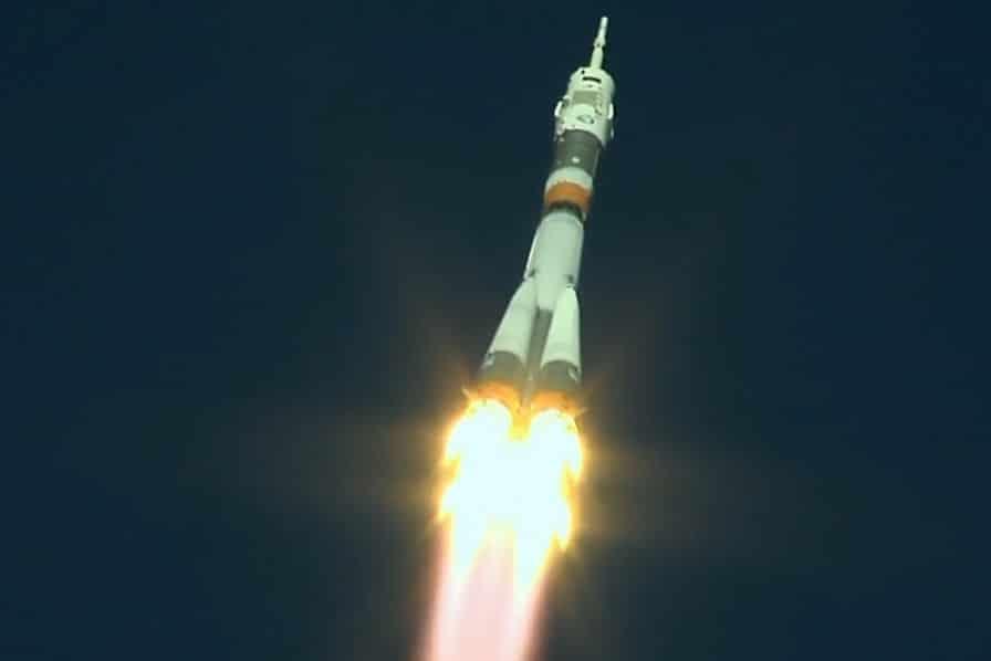 [Vidéo] Une défaillance de la fusée Soyouz-FG force deux astronautes à atterrir en urgence