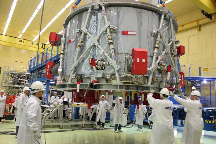 [En images] Le module d'Airbus pour le vaisseau spatial qui emmènera les astronautes au-delà de la Lune