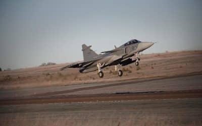 Vol du deuxième avion de combat Gripen E de Saab – Air&Cosmos