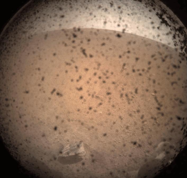 La sonde InSight a frôlé les ennuis lors de son atterrissage sur Mars ! – Air&Cosmos