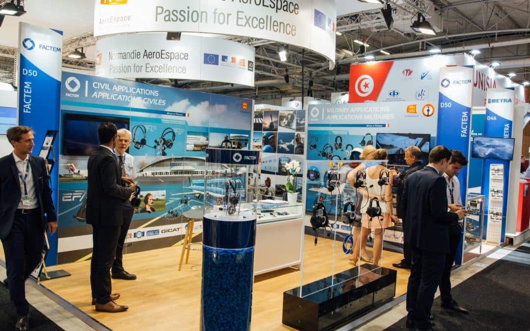 Confortées par leurs commandes sur le Bourget 2017, les PME-ETI  de Normandie AeroEspace préparent une édition 2019 toujours plus forte
