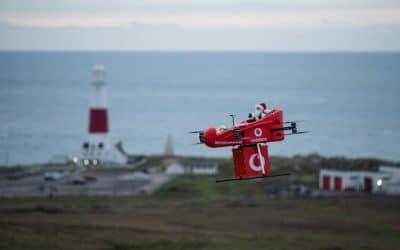 Vodafone réalise une livraison par drone grâce au réseau 4G – Apps&Drones