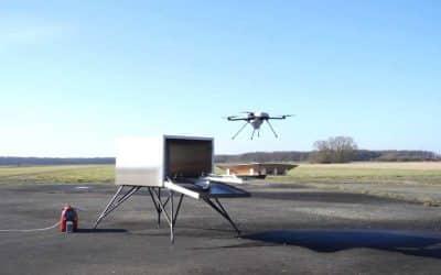Drone Hive conçoit des ruches pouvant accueillir des drones – Apps&Drones
