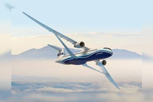 Boeing dévoile un concept d'ailes d'avion ultra fines