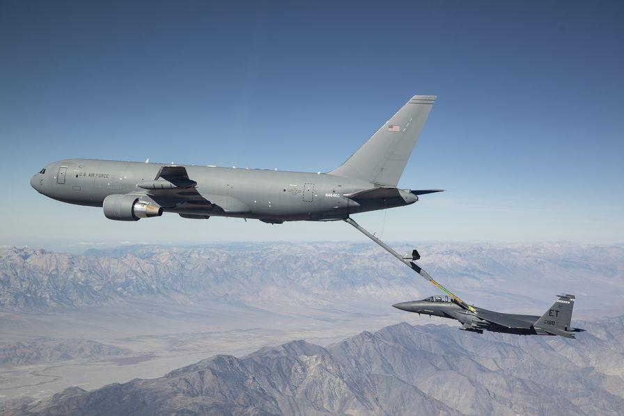 Boeing livre son premier ravitailleur Pegasus KC-46A à l'US Air Force