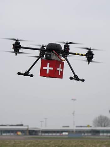 Danemark : vers des livraisons médicales par drones