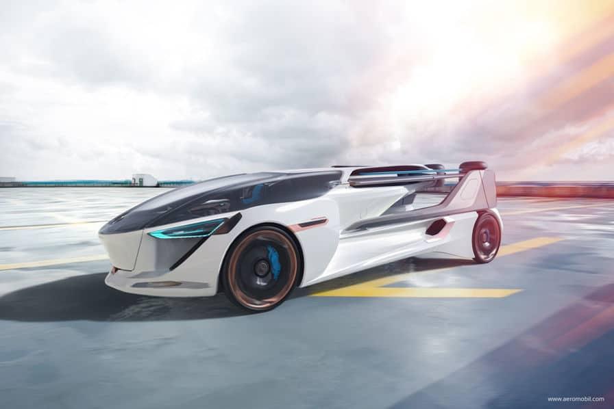 Neuf projets de voitures volantes à suivre en 2019
