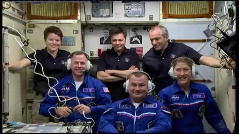 La Station spatiale internationale de nouveau au complet – Air&Cosmos