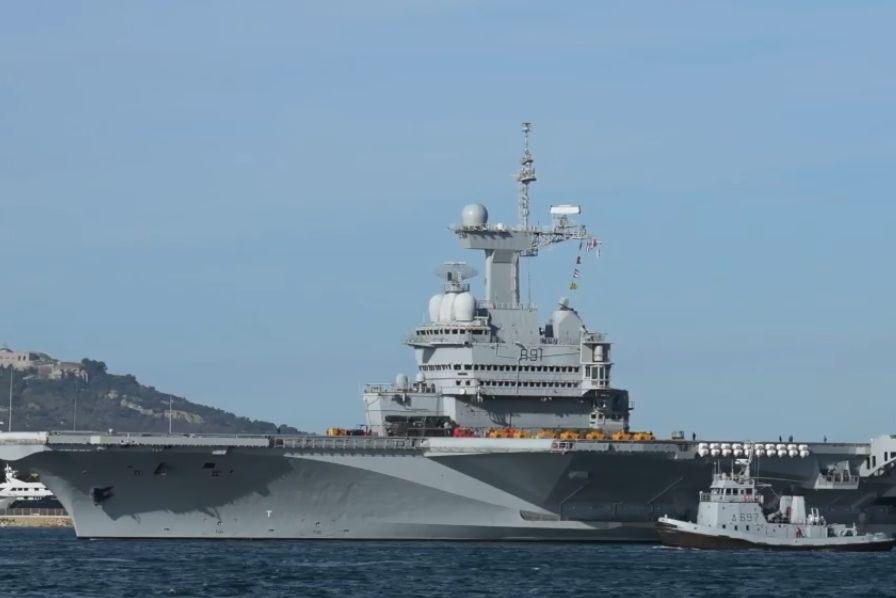 [Vidéo] Après d'importantes rénovations, le porte-avions français Charles de Gaulle est de retour – Construction navale (civile ou militaire)