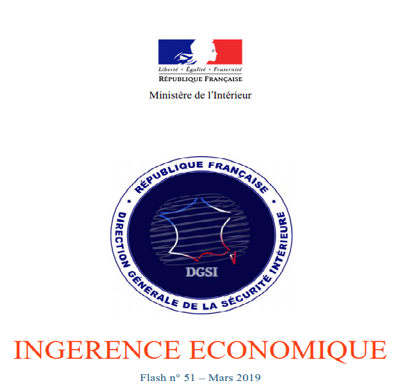 Flash Ingérence Economique n°51