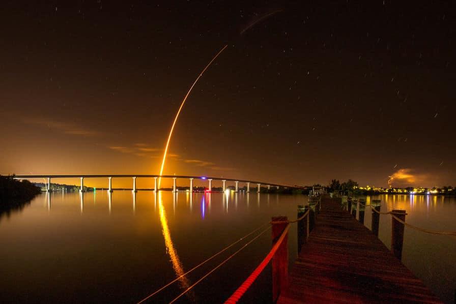 La fusée Falcon 9 de SpaceX en route pour l'ISS – Spatial