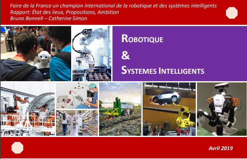 Faire de la France un champion international de la robotique et des systèmes intelligents