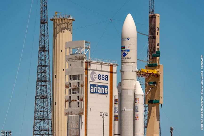 Deux satellites de télécommunications européens lancés par Ariane 5 d'ici l'été – Air&Cosmos