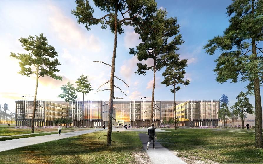 Dassault Aviation : nouveau bâtiment pour le site de Mérignac