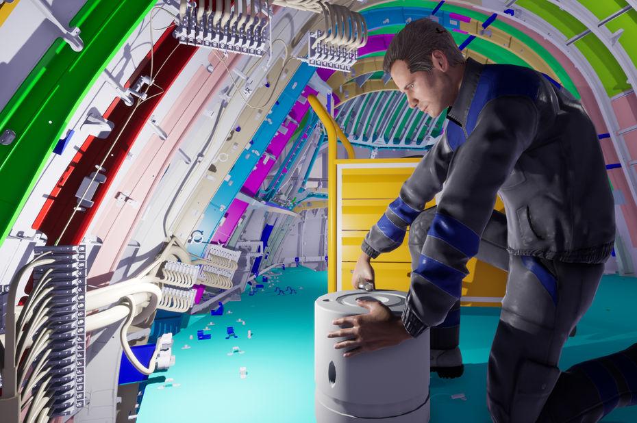 [Viva Tech] Spin-off d'Airbus, SkyReal améliore les processus industriels grâce à la réalité virtuelle