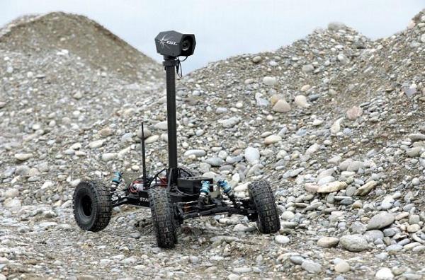L'armée française s'intéresse à Stamina, un robot autonome capable de suivre un itinéraire sans GPS
