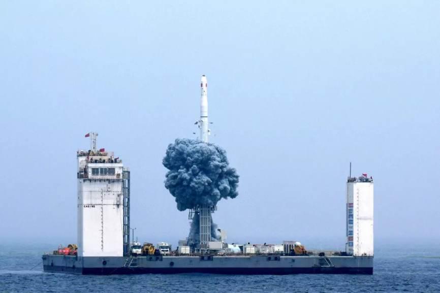 Premier lancement orbital chinois depuis la mer – Air&Cosmos
