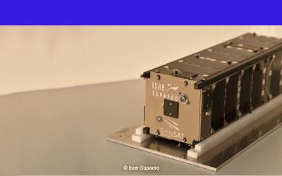 Le cubesat étudiant EntrySat déployé à 400 km