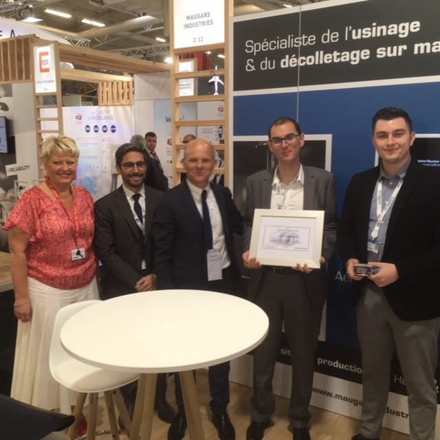 Maugars Industrie, honorée d'un Award de Safran Nacelles