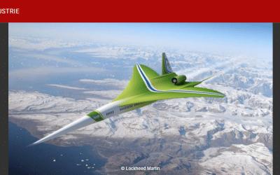 Supersonique civil : Lockheed Martin planche sur sa version