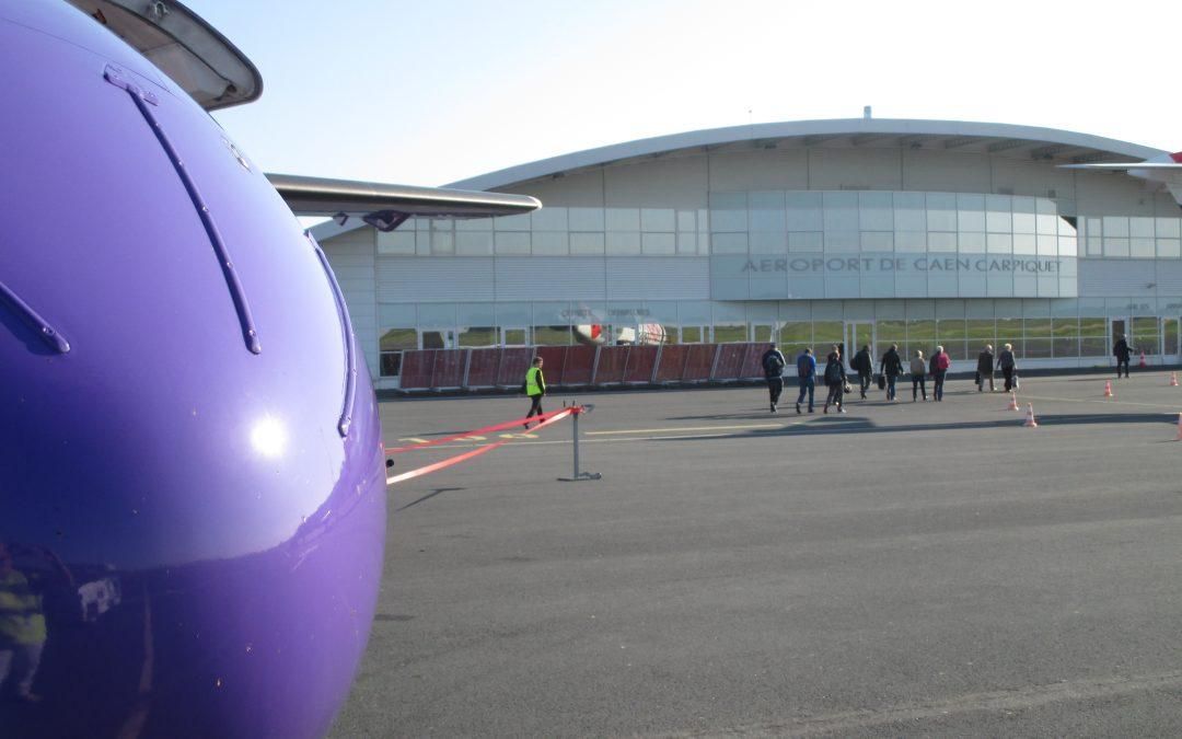 Aéroport de Caen : vols Caen-Lyon, Caen-Londres et Caen-Toulouse