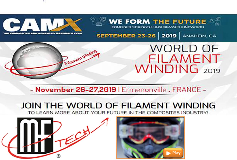 MF Tech - Conférences sur l'enroulement filamentaire