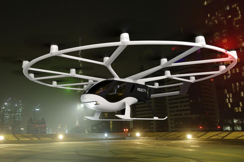 Volocopter présente VoloCity, un taxi volant prêt à la commercialisation et conforme aux normes européennes