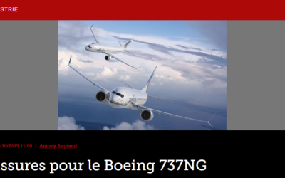 Fissures pour le Boeing 737NG