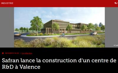 Safran lance la construction d'un centre de R&D à Valence