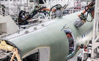 [Vidéo] A Hambourg, Airbus fait appel aux robots pour tenir les cadences de l'A320 – L'Usine Aéro