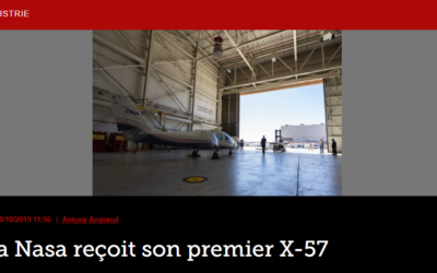 La Nasa reçoit son premier X-57