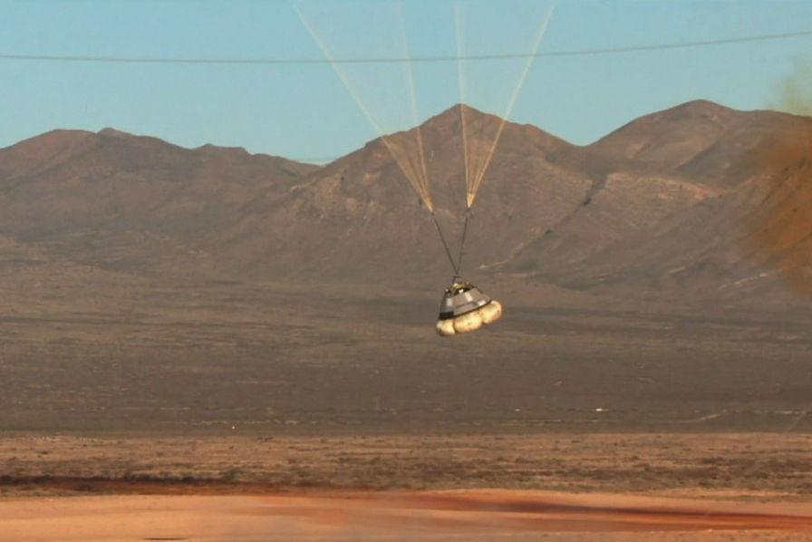 [Vidéo] Boeing et SpaceX testent les parachutes de leurs capsules spatiales – L'Usine Aéro