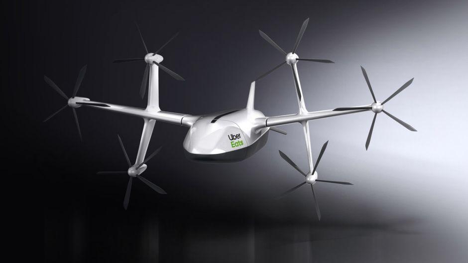 Uber Eats dévoile le prototype de son drone de livraison : Siècle Digital