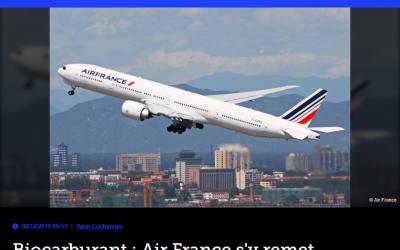 Biocarburant : Air France s'y remet