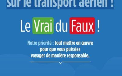 Transport aérien et climat : «stop aux idées reçues»