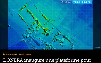 L'ONERA inaugure une plateforme pour les opérations aéroportées