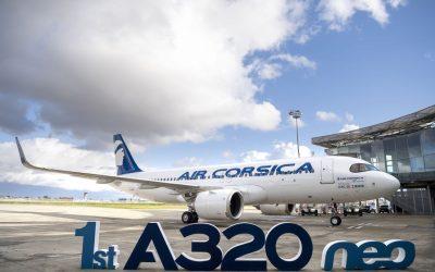 [Sortie d'usine] Découvrez la fabrication du premier A320neo d'Air Corsica en vidéo – L'Usine Aéro
