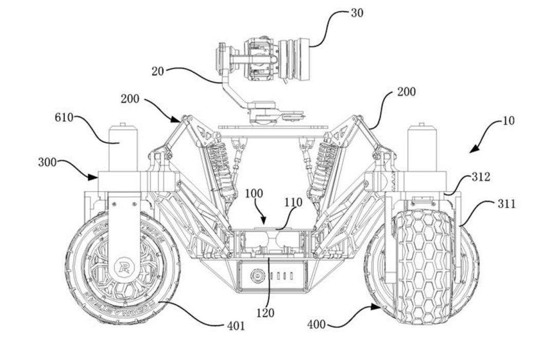 DJI pourrait lancer un drone « terrestre » tout-terrain – Tech – Numerama