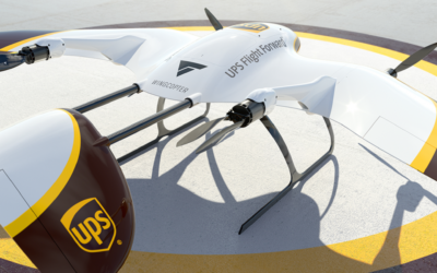 UPS Flight Forward and Wingcopter Collaborate | UAV Expert News