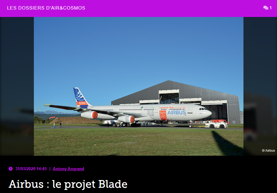Airbus : le projet Blade