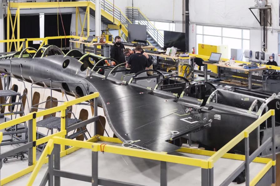 [Vidéo] Le démonstrateur d'avion supersonique de la start-up Boom commence à prendre forme – L'Usine Aéro